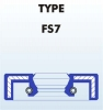 Front fork oil seal 25,4x35x7