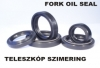 Fork oil seal 43x55x11/13,5